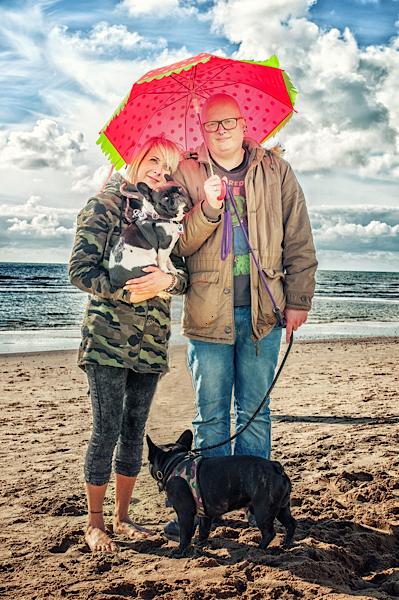 Natalie Gahlen mit ihrem Mann Jörg